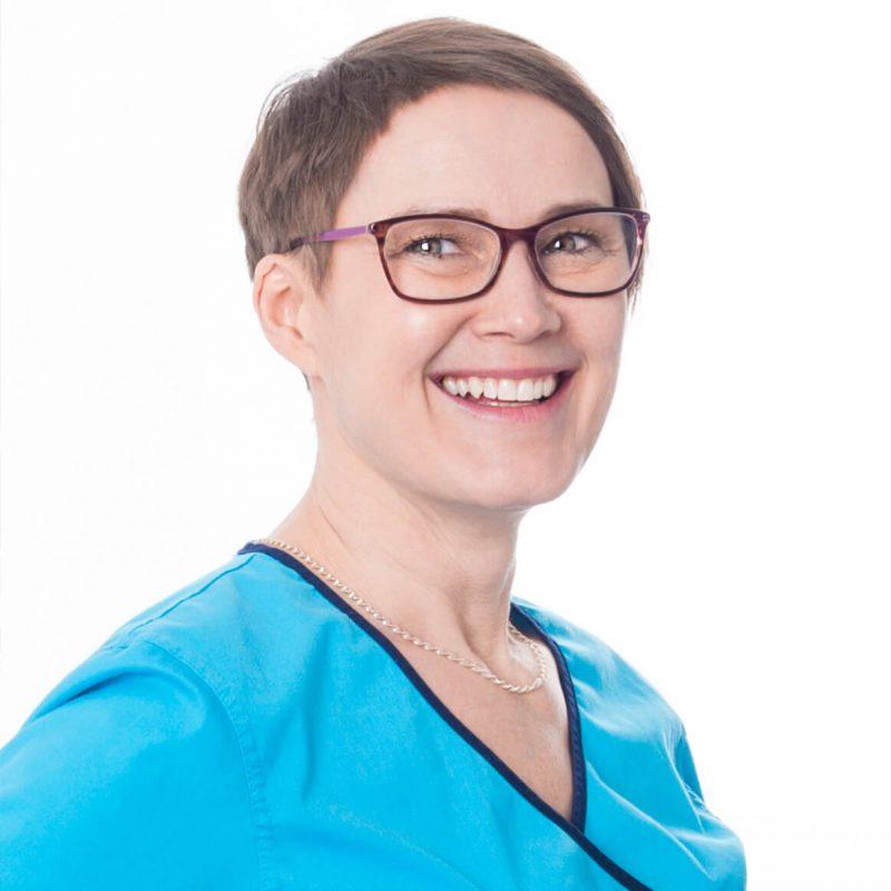 Portrettfoto av tannlege