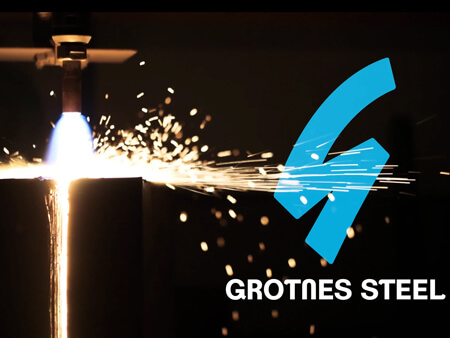 Grotnes Steel logo
