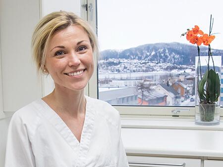 Lene Frøysa fra Toppen Tannlegesenter i Mo i Rana